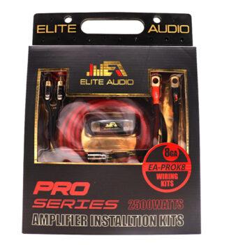 Pro Series 100% OFC Copper 4 Gauge Amp Kit | Complete Amp Wiring Kit |  Elite AudioElite Auto Gear