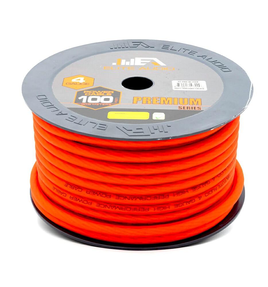 Cca 4 Gauge Power Wire 100ft