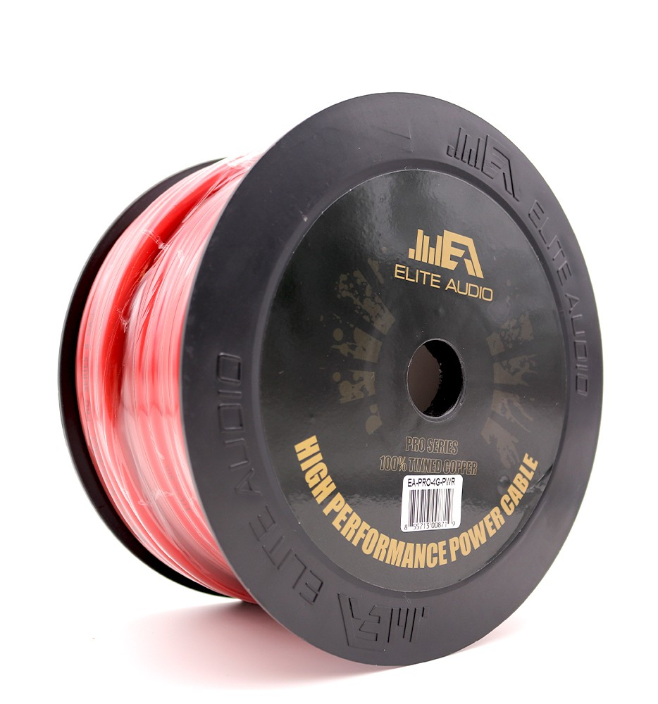 100  Ofc Tinned Copper 4 Gauge Power Wire 100ft
